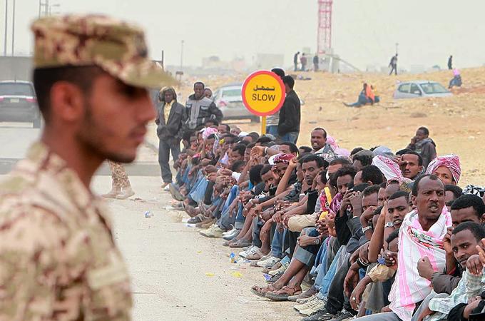 Campagna saudita per espellere i migranti senza documenti