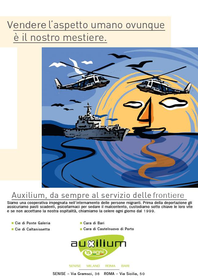 La nuova campagna di comunicazione Auxilium 2014