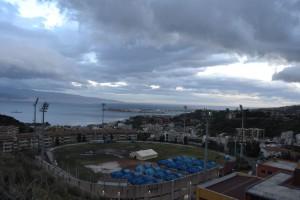 La tendopoli di Messina