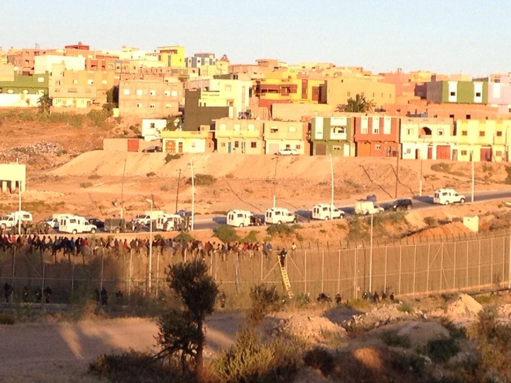 La frontiera di Melilla