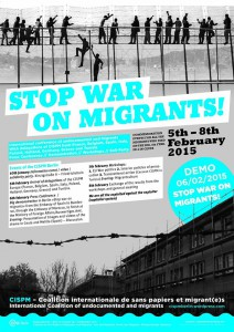 Stop war on migrants