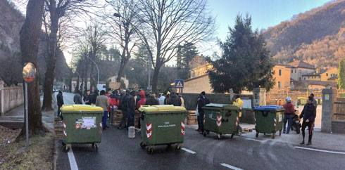 Proteste e blocchi a Vittorio Veneto