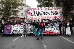 MAnifestazione dell'ASOEE, Atene Aprile 2015