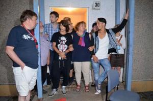 Picchetto solidale contro le espulsioni a Meiningen