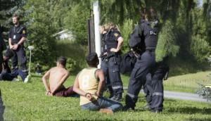 Minori migranti in protesta, arrestati in Norvegia