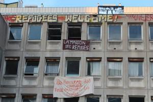 """La """"maison des réfugiés"""" a Parigi"""