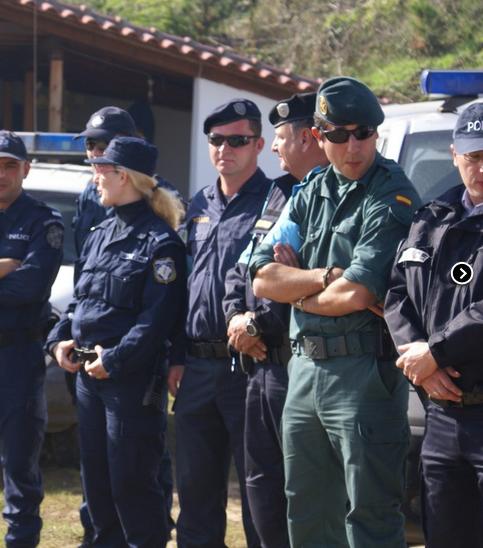 Una squadra RABIT al confine Grecia-Turchia