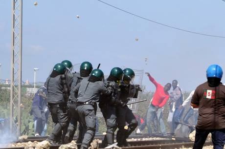 Protesta del 2012  a Pozzallo