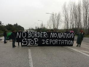 protesta a PolyKastro, 23 Marzo